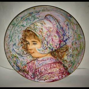 New Vintage Edna Hibel Baroness Johanna Maryke